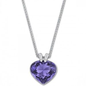 NIB Violet Oceanic Pendant Necklace